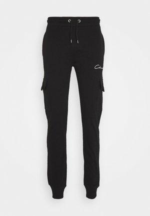 UTILITY JOGGER - Teplákové kalhoty - black