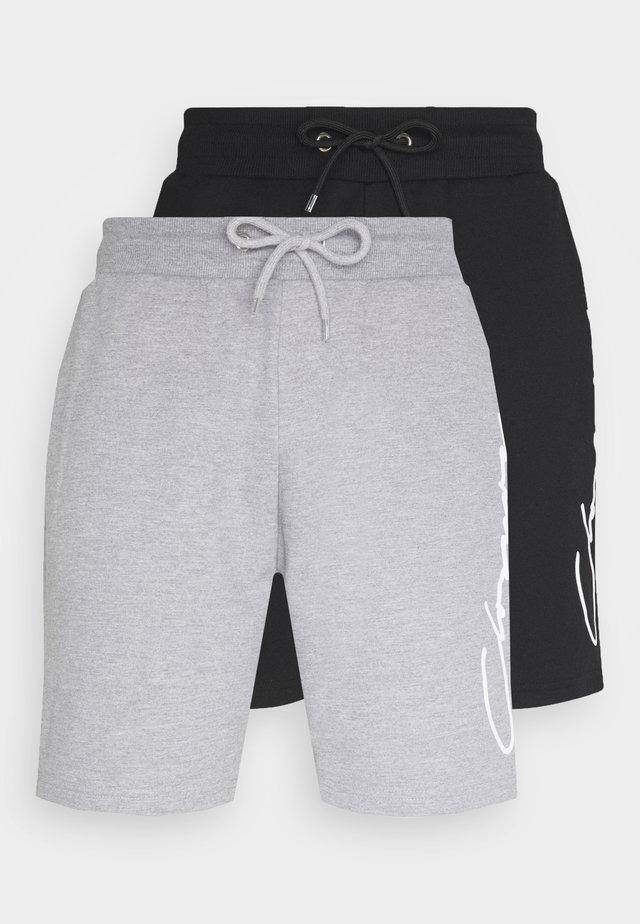 SCRIPT 2 PACK  - Pantalon de survêtement - grey/black