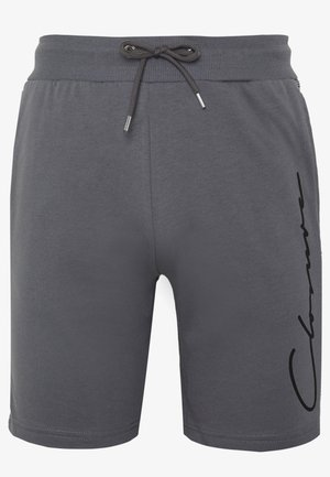 CHECKED SIDE PANELLED  - Pantalones deportivos - grey