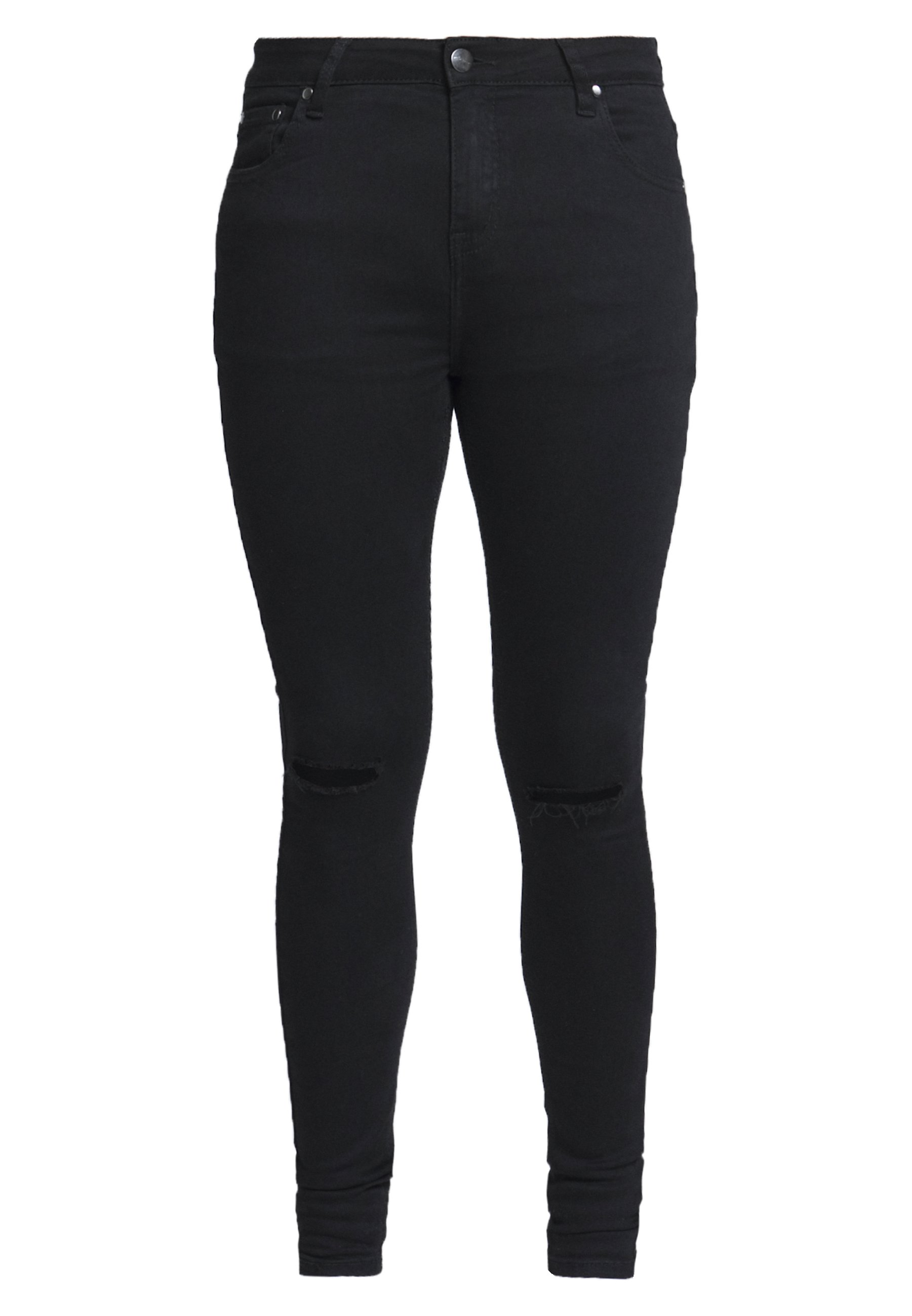 CLOSURE London SPRAY ON RIPPED - Jeans Skinny - black
