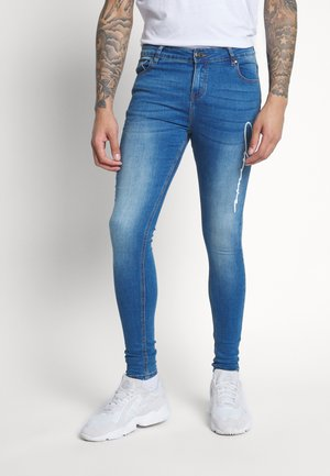 SCRIPT SPRAY ON - Skinny džíny - mid blue