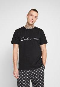 CLOSURE London - SCRIPT TEE - T-shirt med print - black - 0
