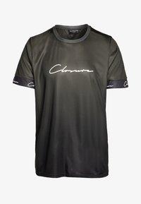 CLOSURE London - FADE SCRIPT BAND TEE - T-shirt con stampa - khaki - 3