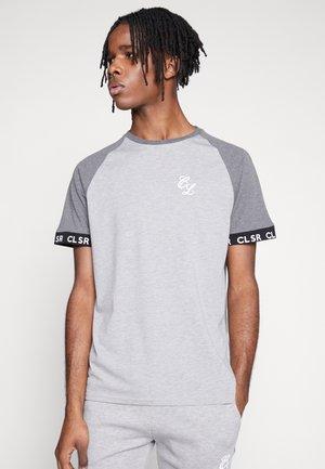 TWO TONE TEE - T-shirt print - grey