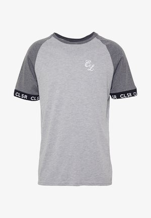 TWO TONE TEE - T-shirt imprimé - grey