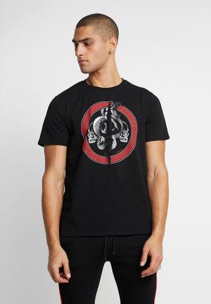 SNAKE MAZE TEE - T-shirt print - red