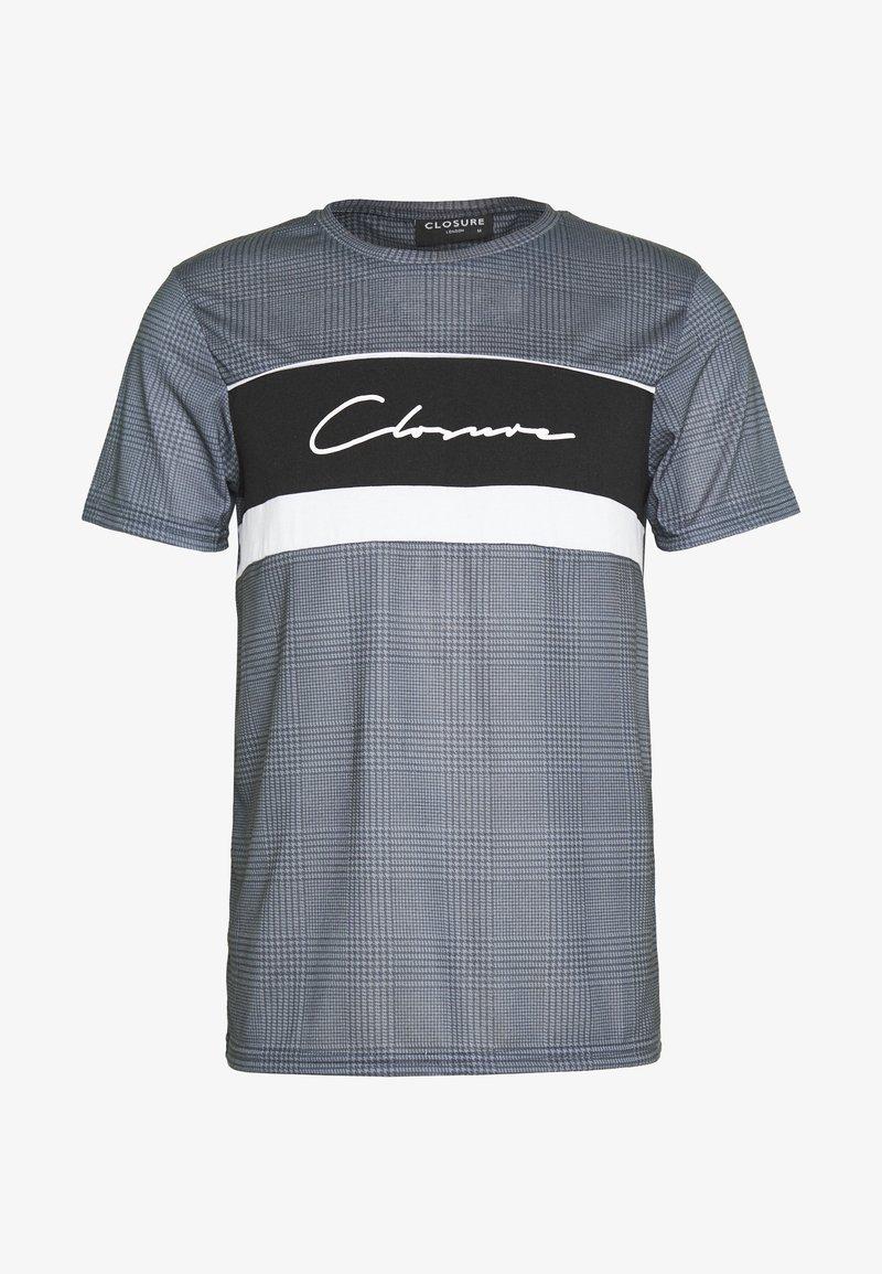 CLOSURE London - PANELLED TEE - T-Shirt print - black