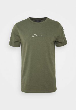 UTILITY TEE - Print T-shirt - khaki