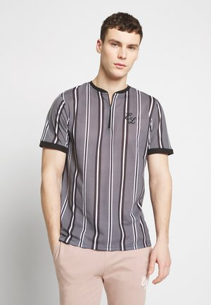 CONTRAST TEE - T-Shirt print - grey