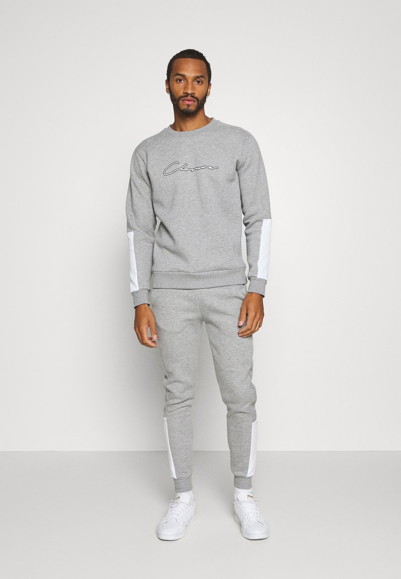 CLOSURE London - SCRIPT TRACKSUIT - Sweatshirt - grey