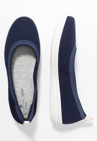 Cloudsteppers by Clarks - AYLA  - Ballerine - navy - 3