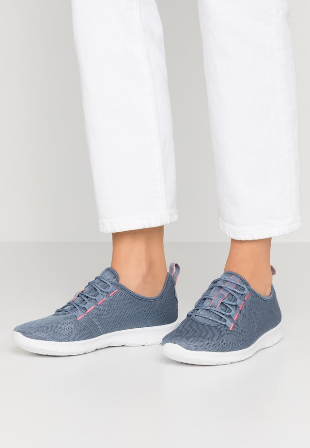 STEP ALLENA GO - Zapatillas - blue grey