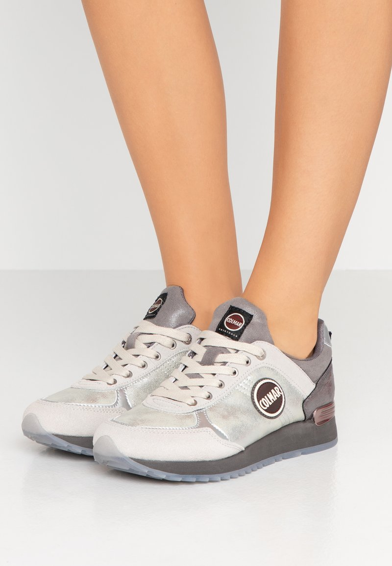Colmar Originals - TRAVIS JANE - Sneakers - white/gray