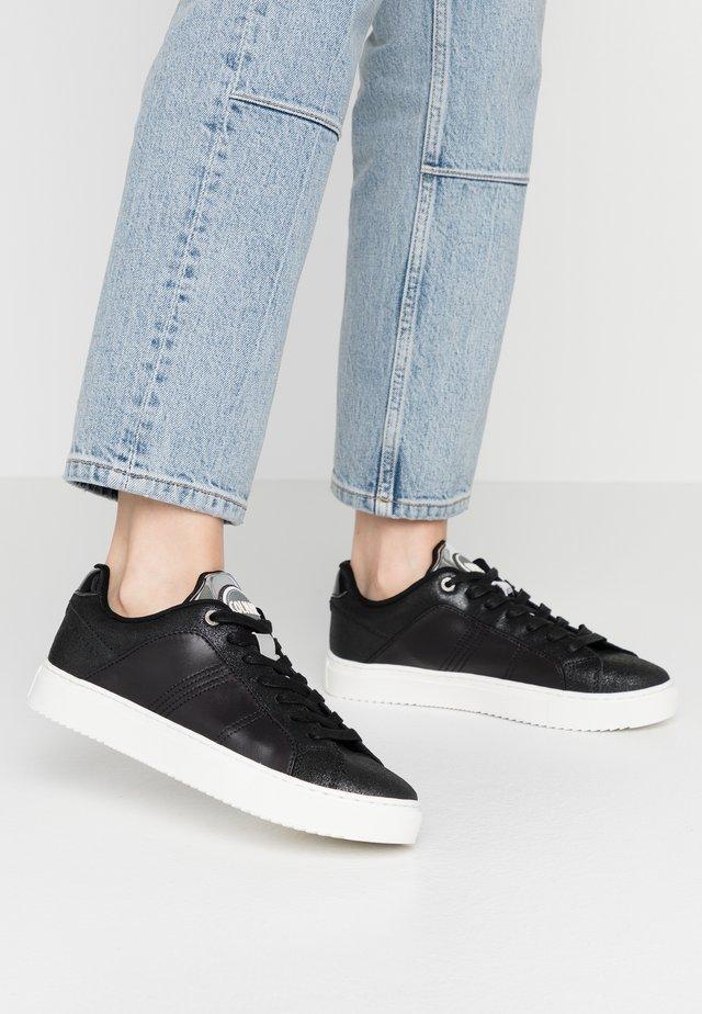 BRADBURY PRIME - Sneakersy niskie - dark silver
