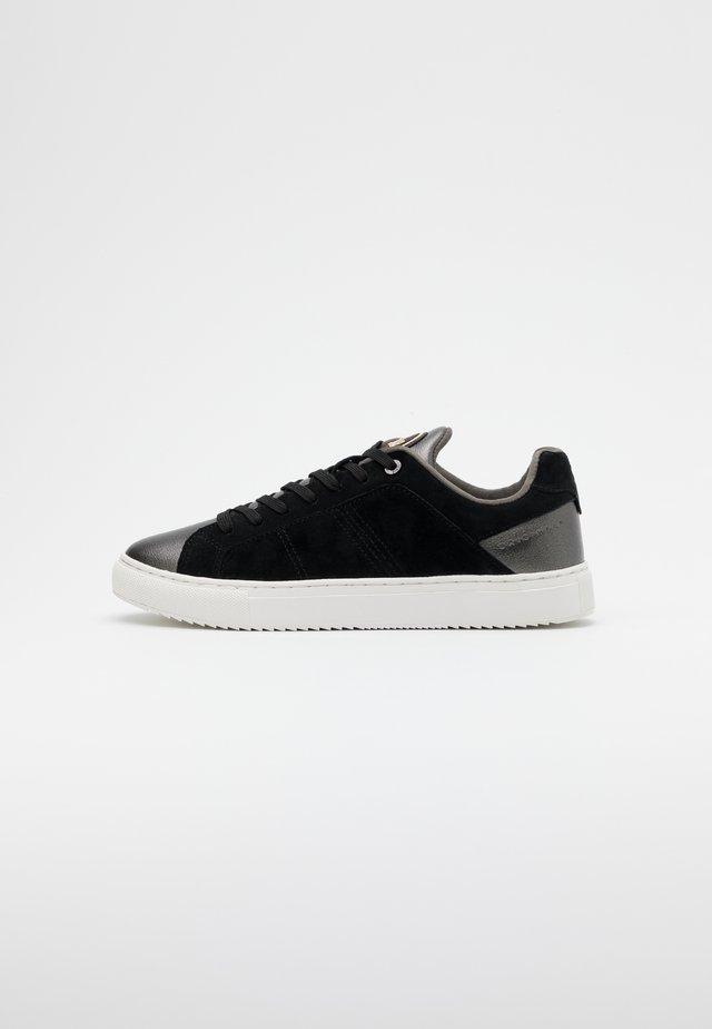 BRADBURY  - Sneaker low - black/dark silver