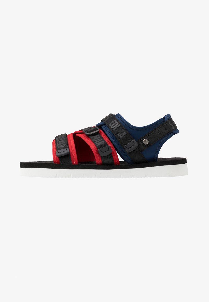 Colmar Originals - KAEL COLORS - Walking sandals - dark blue/red/black