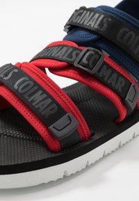 Colmar Originals - KAEL COLORS - Walking sandals - dark blue/red/black - 5