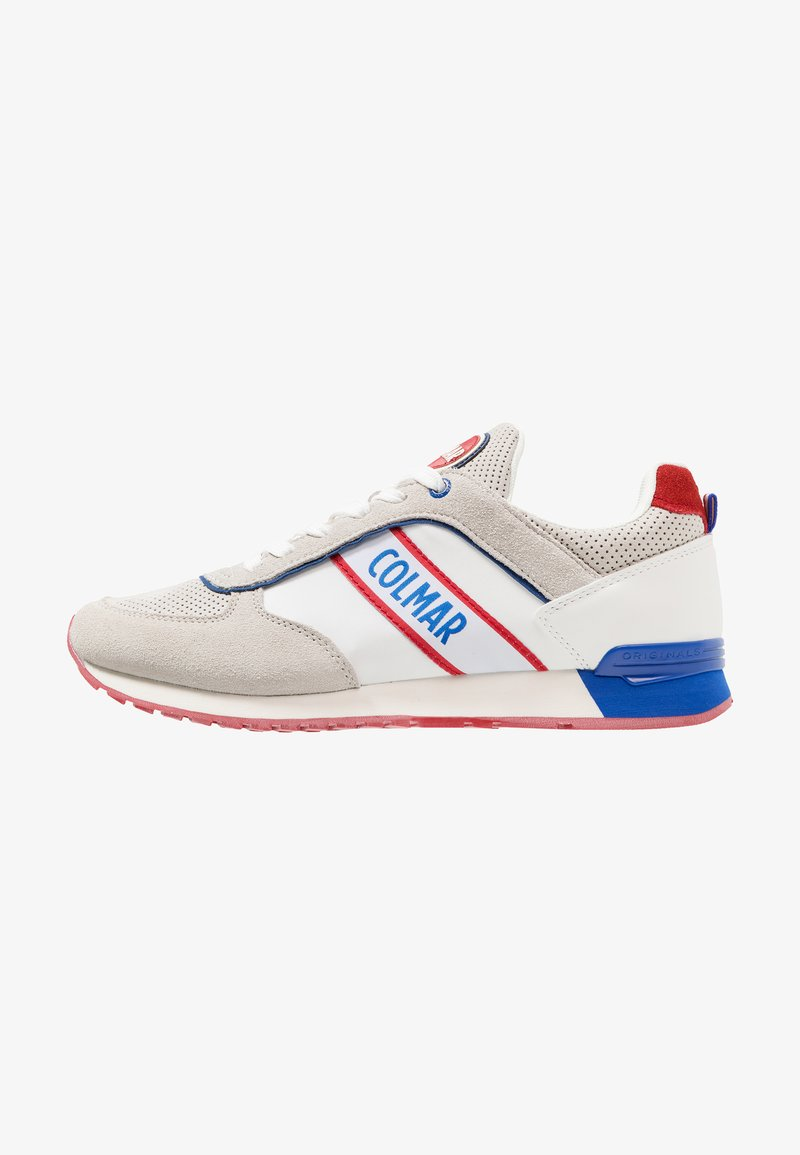 Colmar Originals - TRAVIS RUNNER - Sneakers laag - white/royal/red
