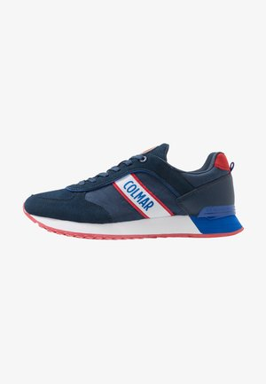 TRAVIS RUNNER - Baskets basses - navy