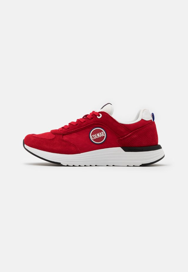 TRAVIS X-1 BOLD - Sneakers laag - red