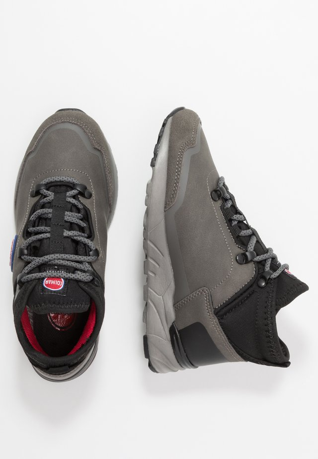 COOPER RACER - High-top trainers - gray/red/black