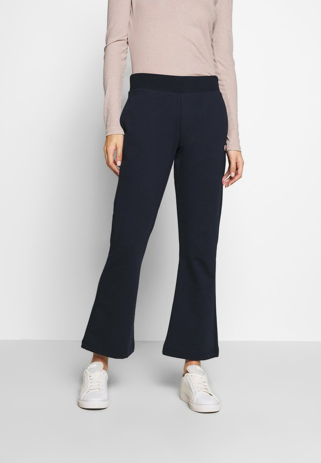 LADIES PANTS - Trousers - navy blue