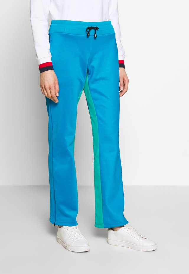 LADIES PANTS - Pantaloni sportivi - blue