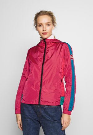 LADIES JACKET - Lehká bunda - raspberry/blue fish