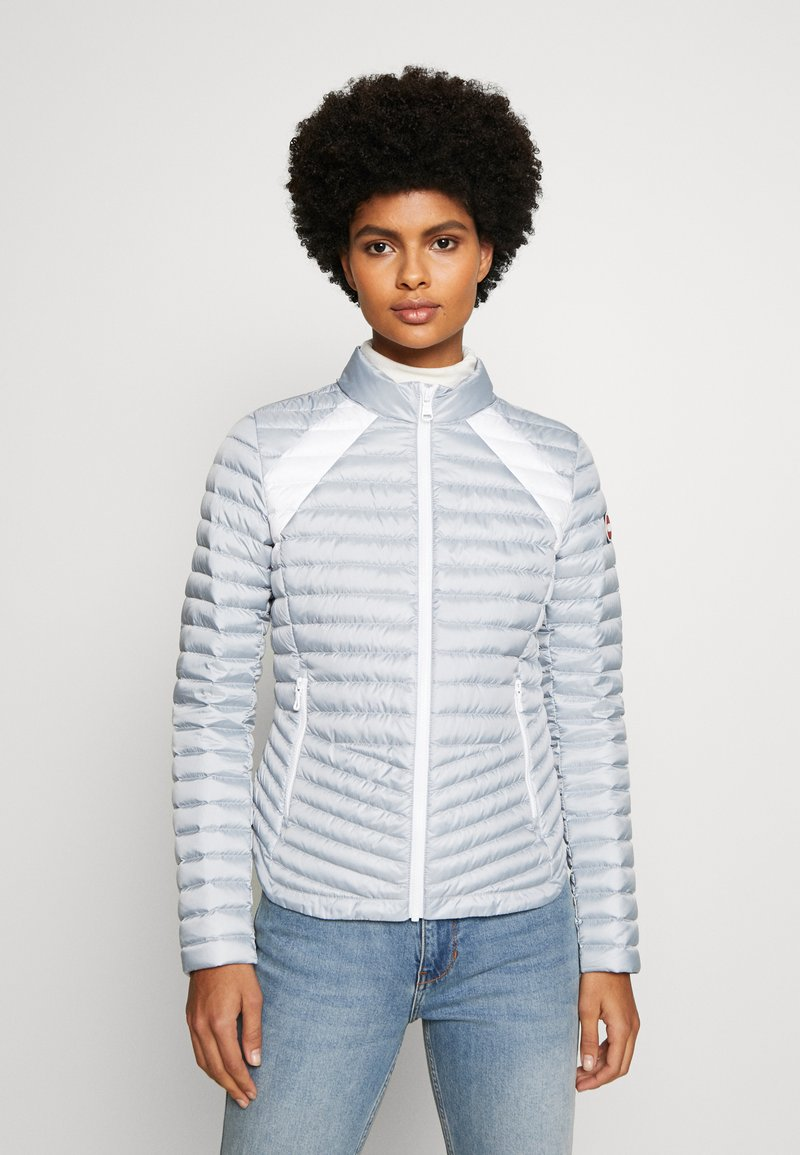 Colmar Originals - LADIES JACKET - Bunda z prachového peří - light steel/white