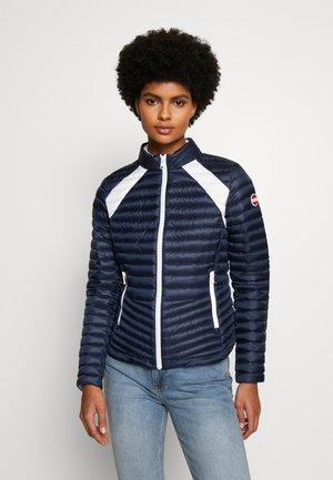 LADIES JACKET - Gewatteerde jas - navy blue/white