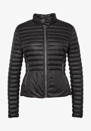 LADIES DOWN JACKET - Down jacket - black/light steel