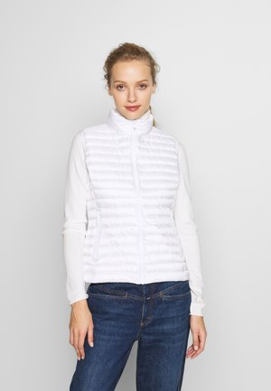 LADIES VEST - Smanicato - white/light steel