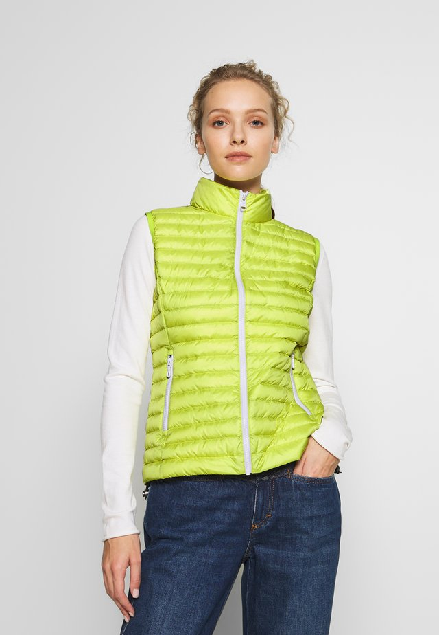 LADIES VEST - Waistcoat - firefly/light steel