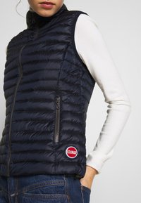 Colmar Originals - LADIES VEST - Smanicato - navy blue - 4