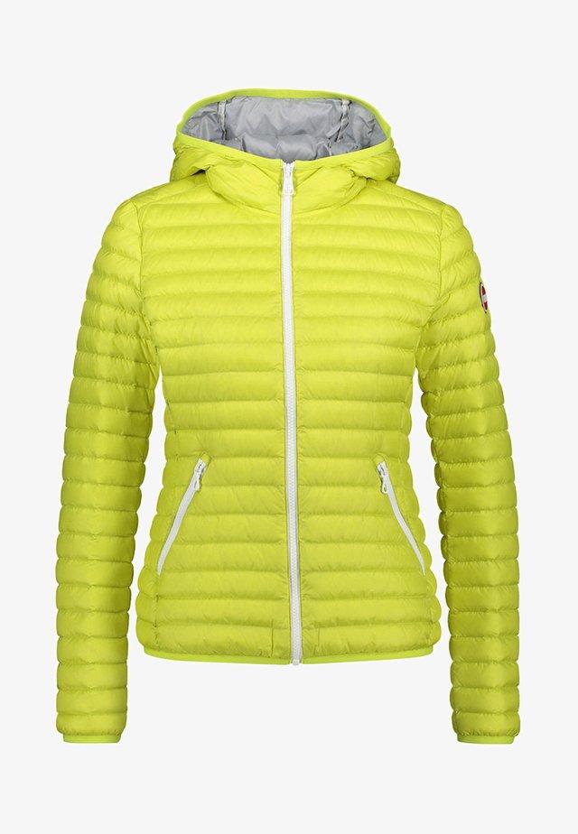 LADIES JACKET - Down jacket - yellow