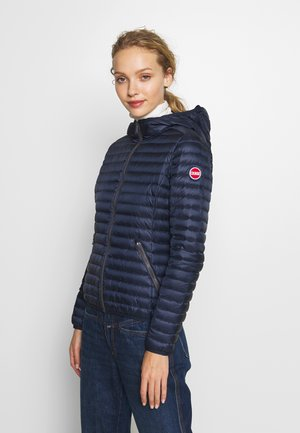 LADIES JACKET - Daunenjacke - navy blue/light steel