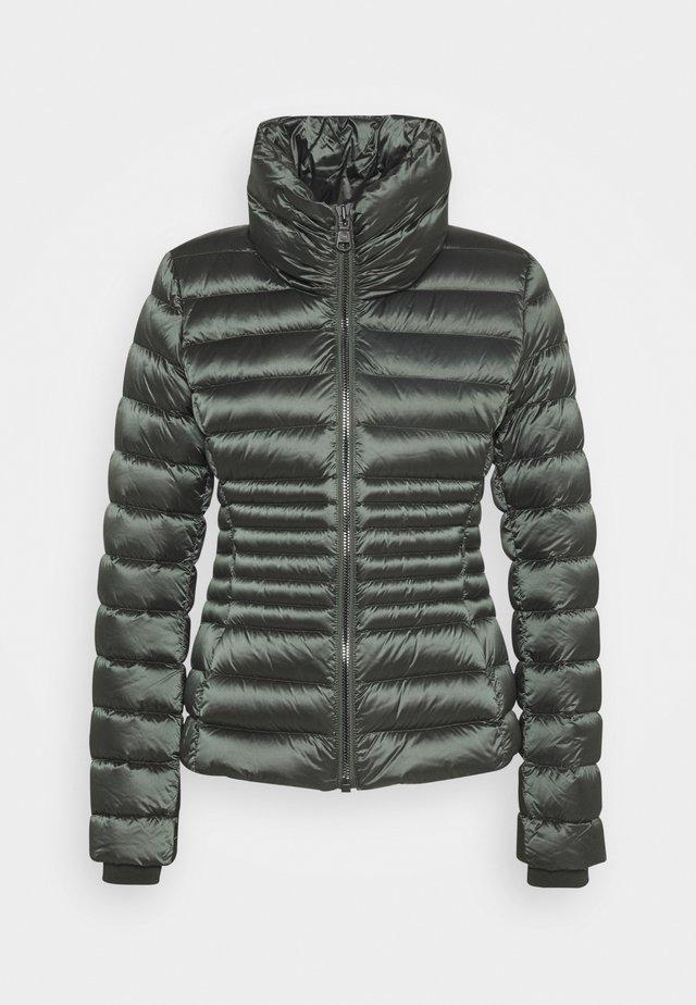 LADIES JACKET - Gewatteerde jas - matcha dark steel
