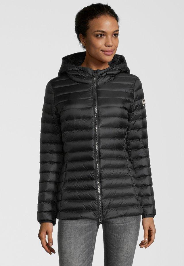 MIT KAPUZE - Down jacket - black
