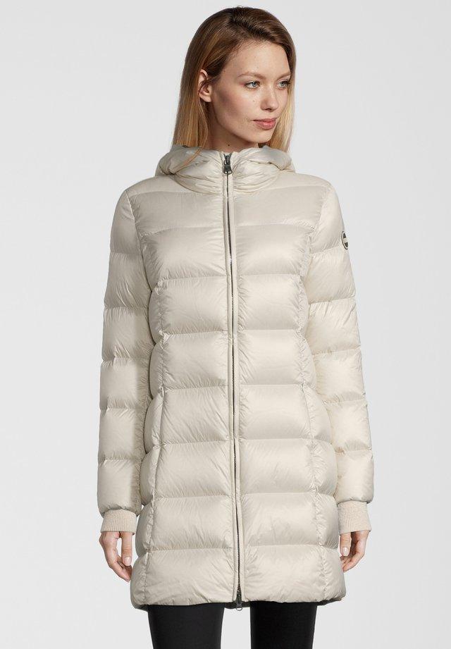 MIT KAPUZE - Down coat - ivory