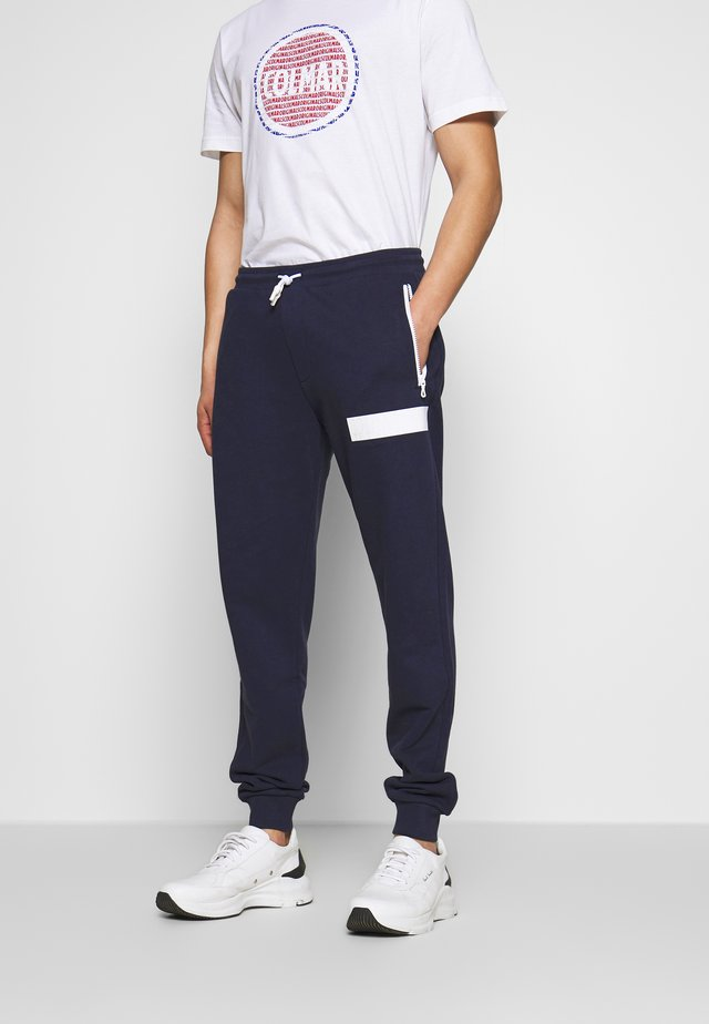 MENS SWEAT PANTS - Spodnie treningowe - navy blue