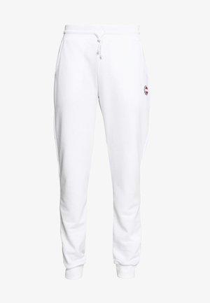 MENS PANTS - Tracksuit bottoms - white