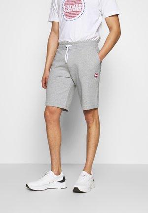 BERMUDA PANTS - Tracksuit bottoms - melange grey
