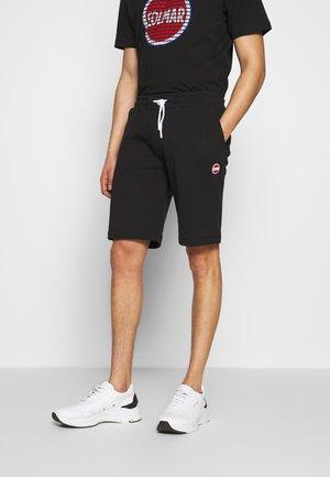 BERMUDA PANTS - Teplákové kalhoty - black