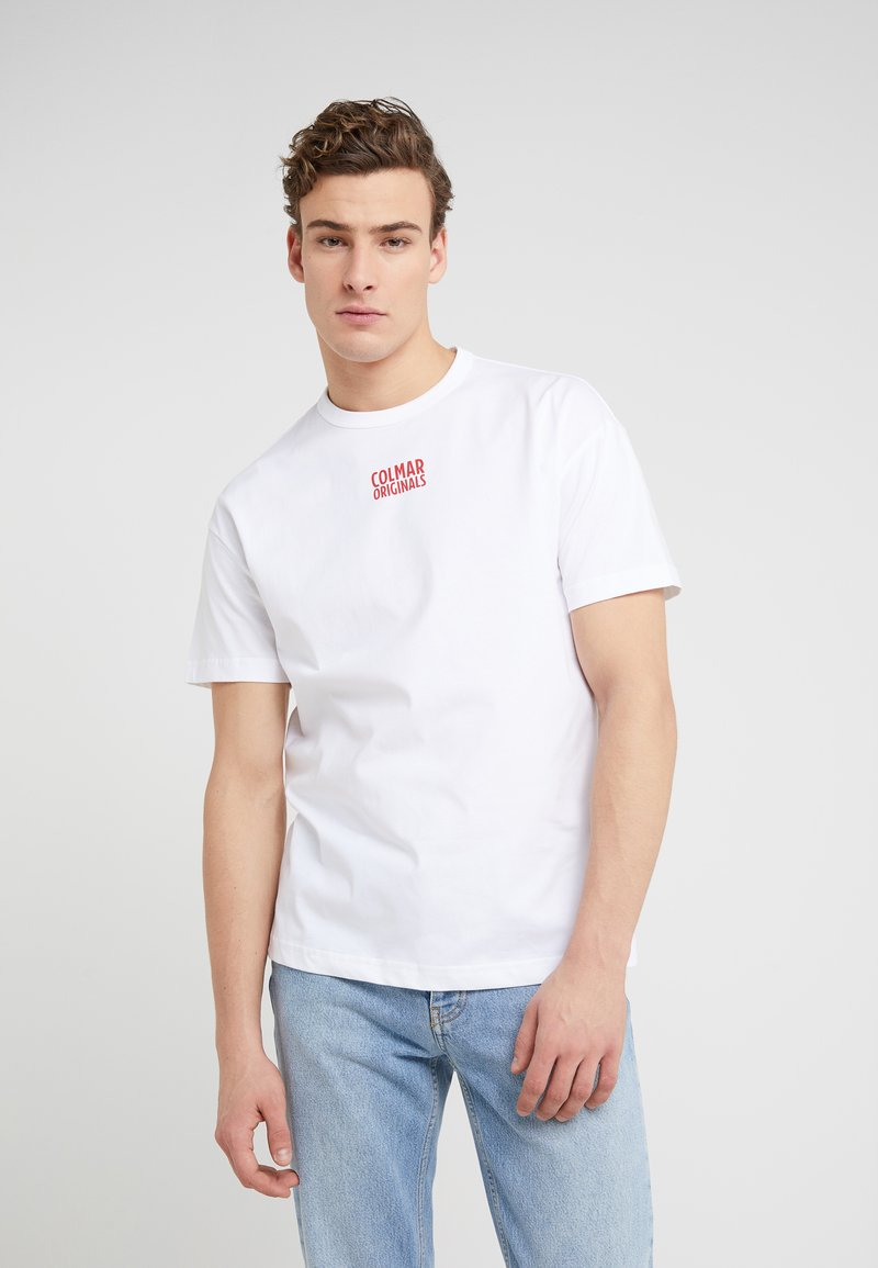 Colmar Originals - SOLID COLOR - T-shirt con stampa - white