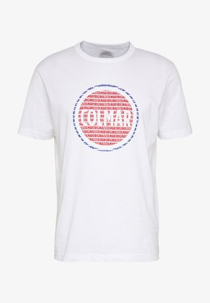 MENS SOLID COLOR - T-shirts med print - white