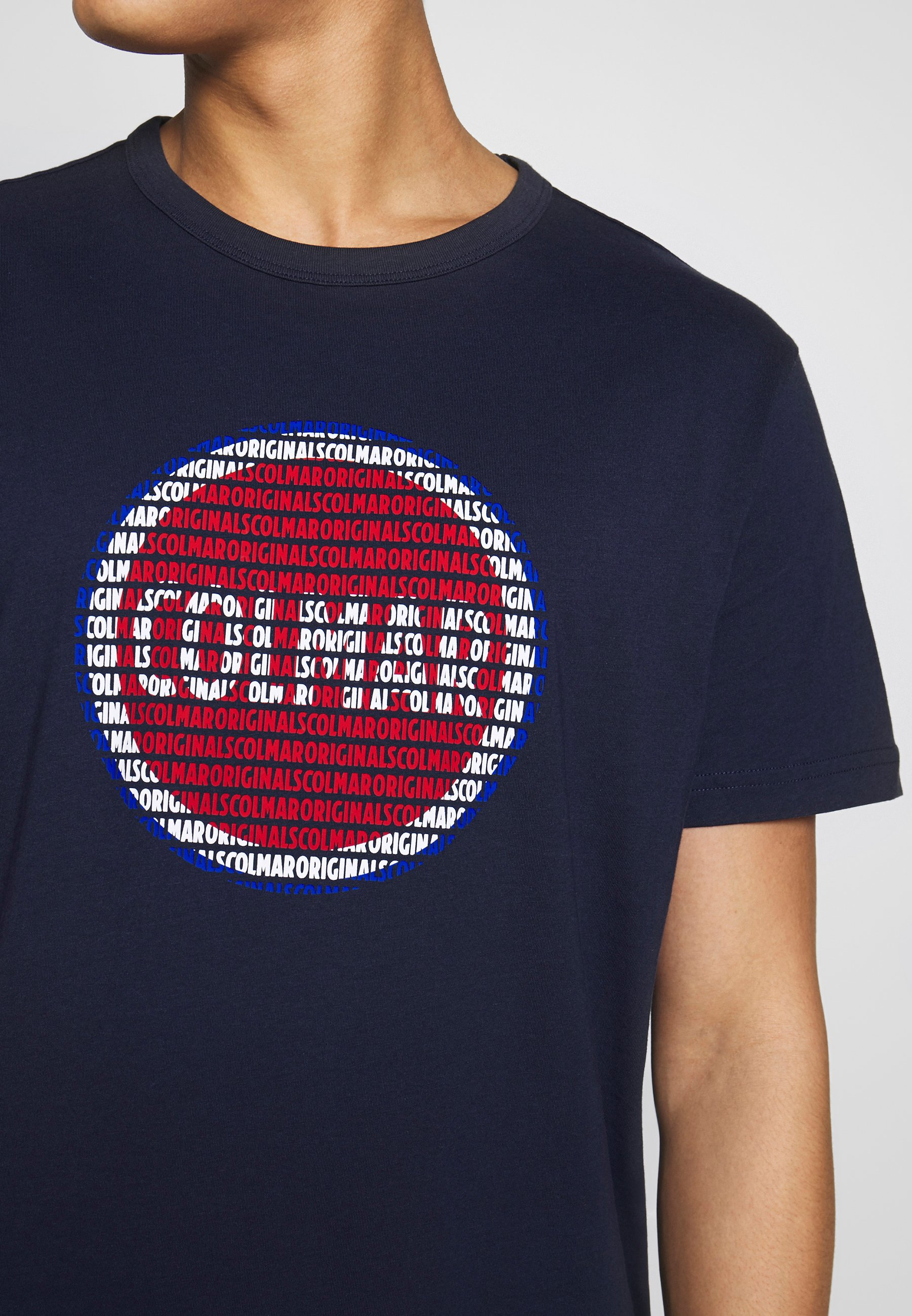Colmar Originals MENS SOLID COLOR - T-shirt z nadrukiem - navy blue