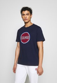 Colmar Originals - MENS SOLID COLOR - Print T-shirt - navy blue - 0