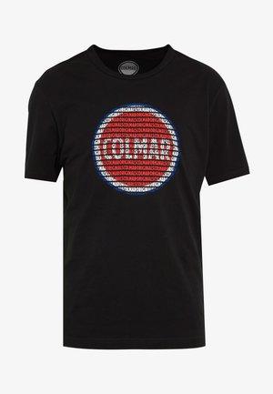 MENS SOLID COLOR - T-Shirt print - black
