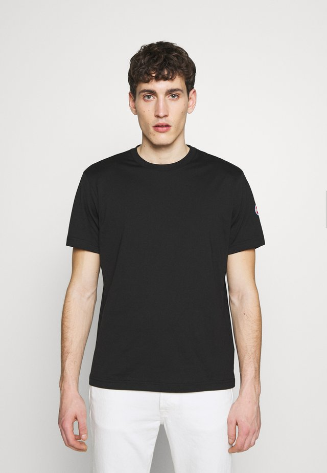 SOLID COLOR - T-shirt basique - black