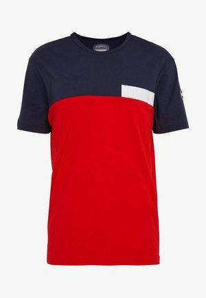 MENS SOLID COLOR - Print T-shirt - navy blue